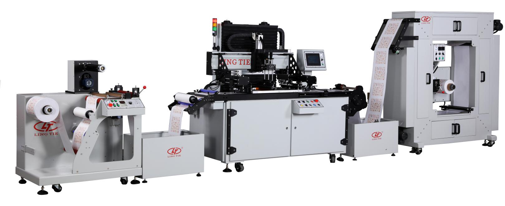 Roll To Roll Screen Printing Machine